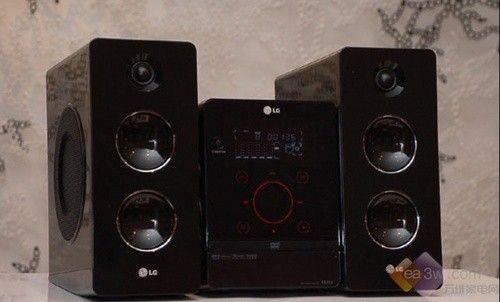 巧克力DVD微型音频 LG音响与众不同