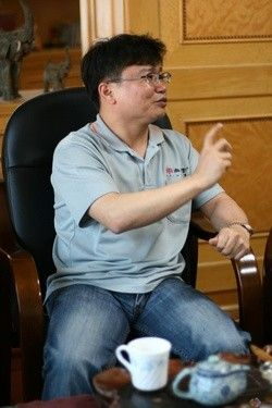 2011顺德家电展 专访尚朋堂黄道铭