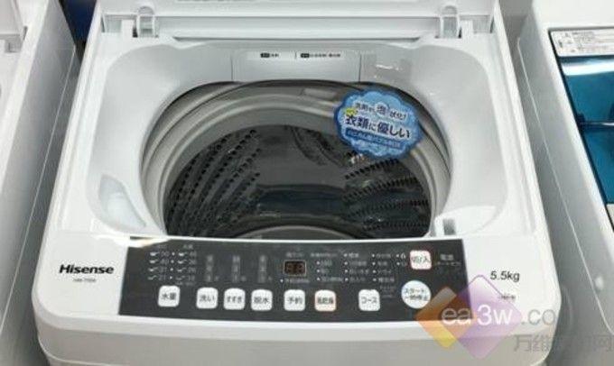 """海信洗衣机""""定制化战略""""布局日本家电市场"""