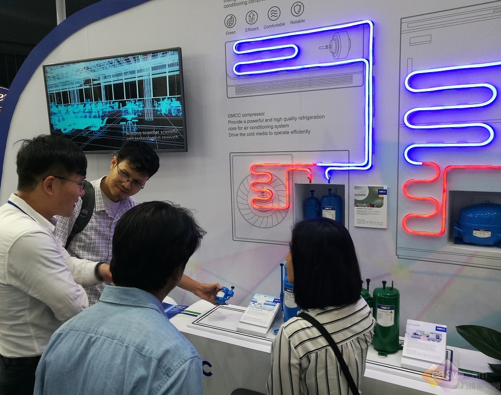 2017泰国RHVAC启幕,GMCC低碳高效制冷号角响彻东南亚