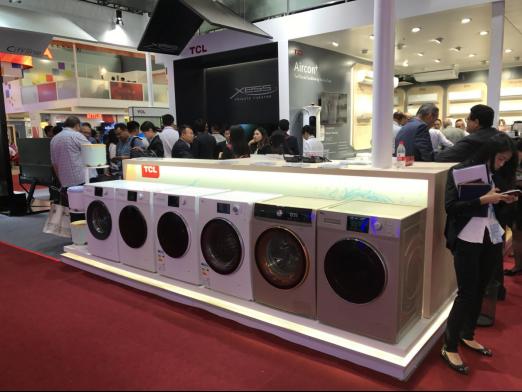 开拓国际化市场  TCL冰箱洗衣机用创新为中国创造打Call