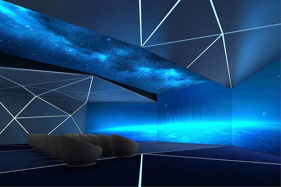 万维智慧空间跨界奔驰,开启圣诞狂欢打CALL新玩法