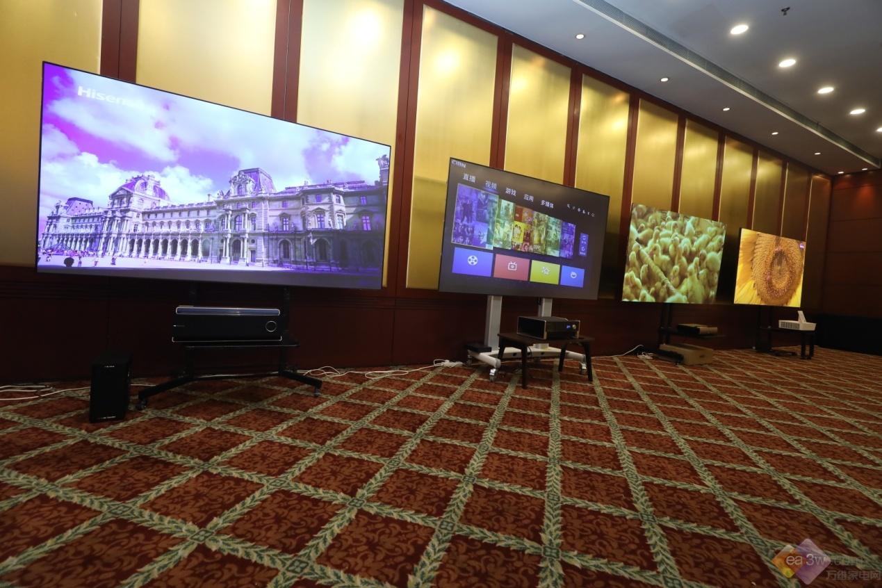 激战高端大屏市场 国内首个《激光电视机技术规范》发布